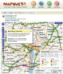 "MapQuest Traffic - User turns on a ""layer"" to view local traffic conditions"